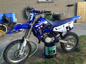 Mint Yz80 with spare top end