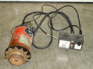 110-120 Volt A.C. Vehicle Mounted Generator and Outlet