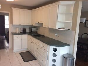 Kitchen cabinets, stove, oven and sink for sale