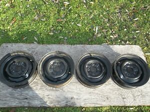 14 INCH / STEEL FORD RIMS,