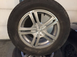 4x winter tires and rims 225/60 r16