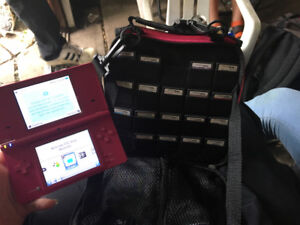 DSI w/ 20 games, charger, and carrying case only $70 !