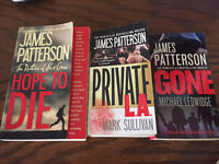 James Patterson Books - Lot of 5