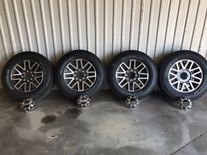 Stock Rims and Tires off 2017 F350