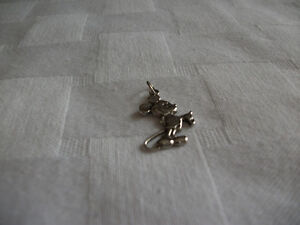 STERLING SILVER MICKEY MOUSE Kitchener / Waterloo Kitchener Area image 1
