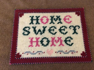 Hand Crafted Sign 'Home Sweet Home'