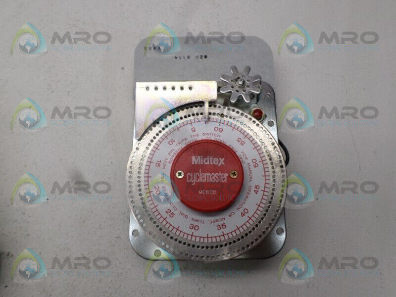 MIDTEX 6208114 TIMER CYCLEMASTER 0-60 MIN. *USED*