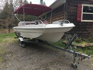 16' Thunderbird Center Console Boat w/Trailer