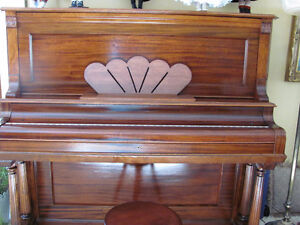 PRICED TO SELL LATE 1800's ANTIQUE TRYBER PIANO Prince George British Columbia image 5