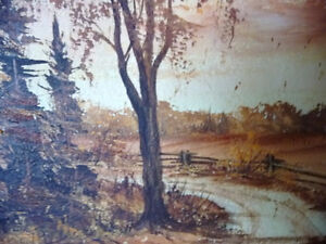 3 Original Oil Paintings from a Series by O.J. Coghlin Stratford Kitchener Area image 7