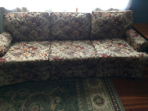 2 used couches and 1 loveseat