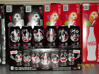 Coca cola Cans for FIFA host cities sets