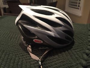 BELL LUMEN BICYCLE HELMET SIZE SMALL 51-55 CM White/Grey