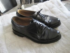 Florsheim Imperial Classic Smooth Black Leather Dress Shoes