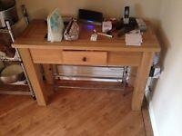 Real oak dresser