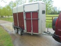 ifor williams hunter horse trailer