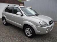 2007 Hyundai Tucson 2.0 CRTD CDX 5dr [138] DIESEL 5 door Estate