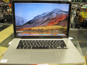 Macbook Pro 15 inch (Late 2011)