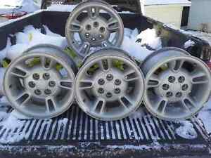 "4 - 15"" Aluminum Alloy Dodge Ram Mag Rims Peterborough Peterborough Area image 1"