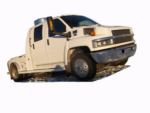 2005 CHEVY KODIAK C4500 CREW CAB Cash/ trade/ lease to own .
