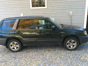 2005 Subaru Forester Green Wagon