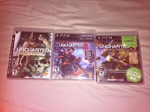 Uncharted 1 2 and 3