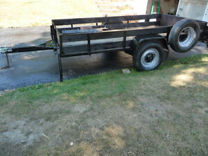 Utility Trailer 10 ft 9 inches long x 5 ft 6 inches wide