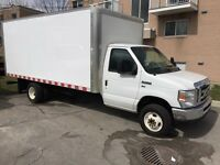 2012 Ford E-450 cube 16 pieds cutaway fourgon
