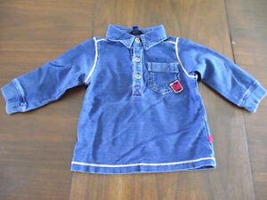 2 chandails à capuchon, 1 chandail,1 chemise Souris Mini 12 mois