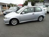 1999 Toyota Starlet Glanza V 1300 TURBO SUNROOF FRESH IMPORT 3dr