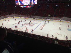 Montreal Canadiens Tickets!!! Club Level!!!!