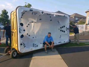 WE PAY CASH FOR GOOD  USED TUBS / HOT TUB MOVING
