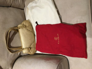 Cole Haan authentic Gold leather bag