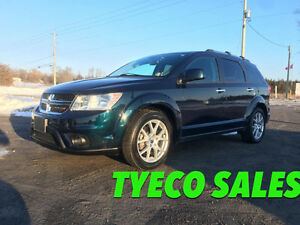 2014 Dodge Journey R/T AWD NAVI DVD LEATHER