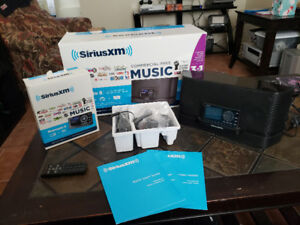 Sirius Radio with sound system and car mounting kit brand new