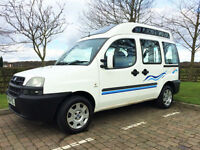 SMALL CAMPERVAN FIAT DOBLO DIESEL 2 BERTH **PROFESSIONAL FIT NEW CONVERSION**