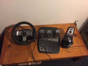 Logitech car simulator - Fun & fully functional