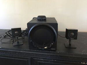 Creative Labs 2.1 Surround and XBlaster 7 Headset
