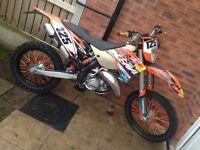 ktm 125 exc exc125 2011