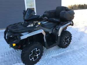 2014 CAN AM 800 OUTLANDER XT...FINANCING AVAILABLE