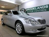Mercedes S Class S320 3.0 CDI [5X SERVICES, SAT NAV, LEATHER, REVERSE CAMERA and