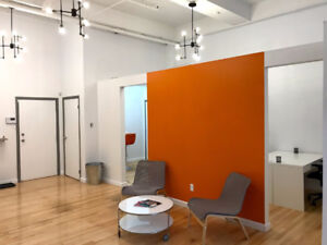 Private Desk Space Available at Creative Agency