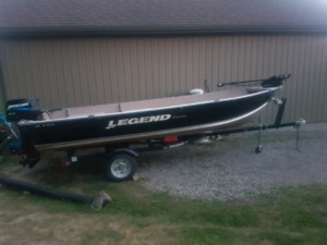 2009 Legend Pro Sport 16 Fishing Package
