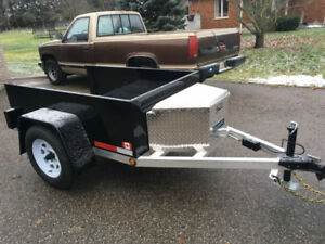Single Axle Aluminum trailer