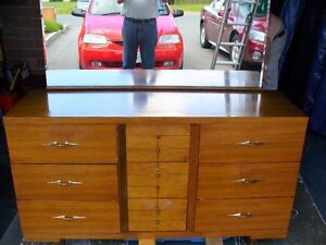 Full length Walnut Dresser