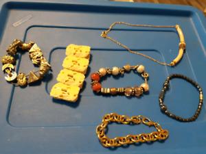 Bracelets/Anklets and Necklace