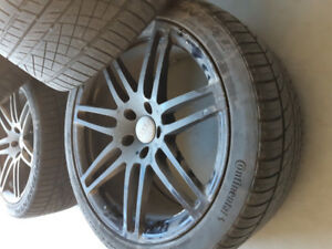 audi mags with tires 295 35 21