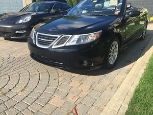 2008 Saab 9-3 AREO convertible six speed fully loaded