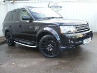 2012 Land Rover Range Rover Sport 3.0 SDV6 ( 255bhp ) 4X4 Auto HSE Black