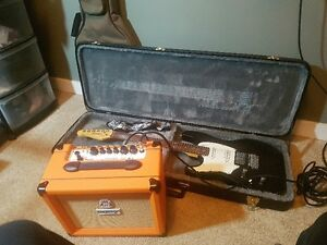 LEFT HANDED Godin Session Guitar and Orange CRrush 20RT AMP Prince George British Columbia image 1